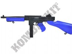 M306 Airsoft BB Gun Black and Blue